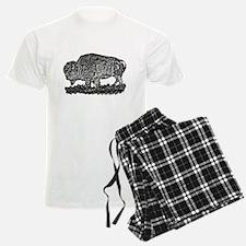 B@W Buffalo Pajamas