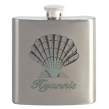Hyannis Shell Flask