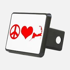 Peace Love Cape Cod Hitch Cover