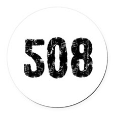 508.png Round Car Magnet