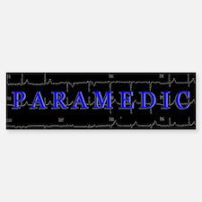 PARAMEDIC on 12lead ECG graphic Bumper Bumper Bumper Sticker
