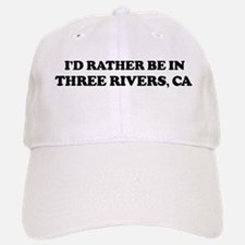 Rather: THREE RIVERS Baseball Baseball Cap