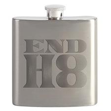 Unique Anti war Flask
