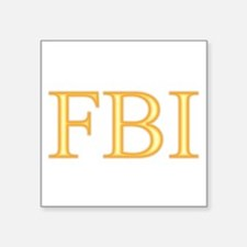 "FBI - Department Of Alcoho Square Sticker 3"" x 3"""