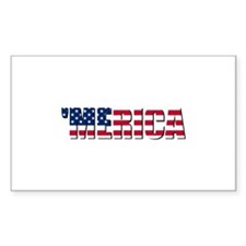 Merica USA Decal