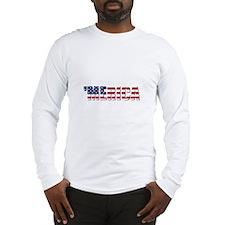 Merica USA Long Sleeve T-Shirt