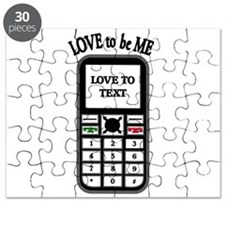 LOVE TO TEXT Puzzle