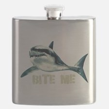 Bite Me Shark Flask
