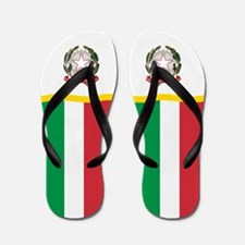 Italy Italian Italia Flag Flip Flops