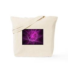Feather Spiderweb Tote Bag