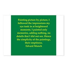 munch11.png Postcards (Package of 8)