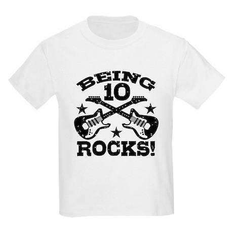Being 10 Rocks Kids Light T-Shirt