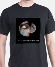 Dark Side of the Moon  Black T-Shirt