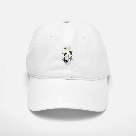 Butterflies of Summer Baseball Baseball Cap