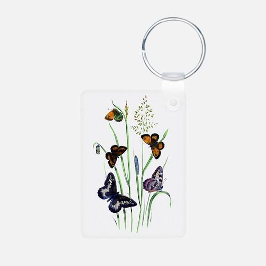 Butterflies of Summer Keychains