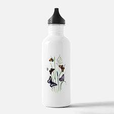 Butterflies of Summer Water Bottle