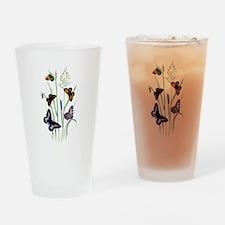 Butterflies of Summer Drinking Glass