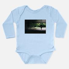 City Silhouette Long Sleeve Infant Bodysuit