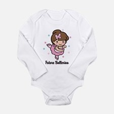 Future Ballerina Long Sleeve Infant Bodysuit