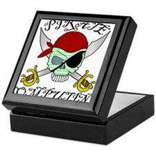 Pirate Computing Keepsake Box