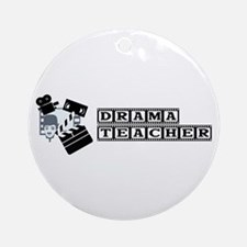 Drama Teacher Ornament (Round)