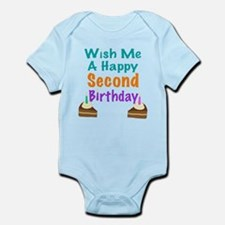 Wish me a Second Birthday Infant Bodysuit