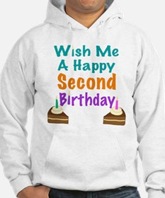 Wish me a Second Birthday Hoodie