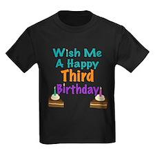Wish me a happy Third Birthday T