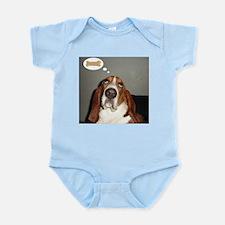 Basset thoughts Infant Bodysuit