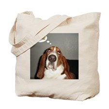 Basset thoughts Tote Bag