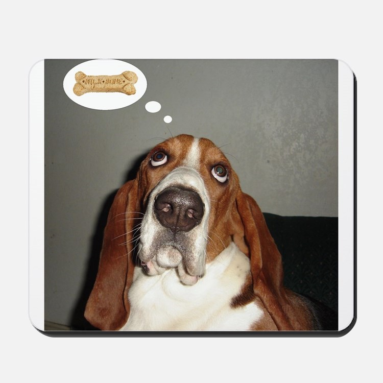 Basset thoughts Mousepad