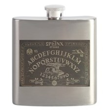 Vintage Sphinx Ouija Board Flask