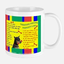 Property Laws -MinPin,BlkTanCr Mugs