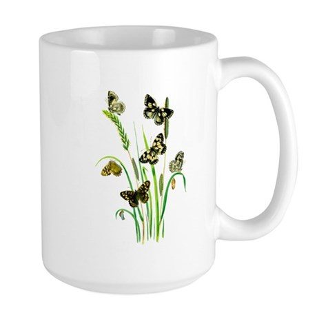 Butterflies of Summer Large Mug