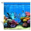 Tropical Fish Aquarium with Bright Colored Coral S