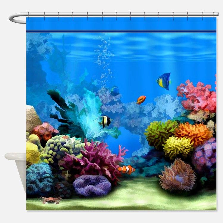 Aquarium Bathroom Accessories & Decor - CafePress