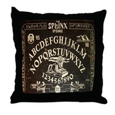 Vintage Egyptian style Sphinx Ouija Board sq Throw