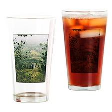 Lush Italian Foliage Drinking Glass