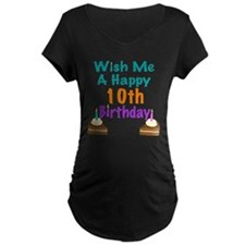Wish me a happy 10th Birthday T-Shirt
