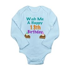 Wish me a happy13th Birthday Baby Outfits