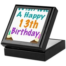 Wish me a happy13th Birthday Keepsake Box
