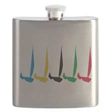 Sailing Regatta Flask