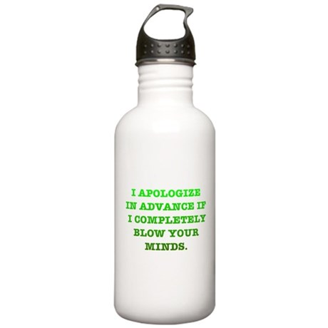 Blow Your Minds Stainless Water Bottle 1.0L