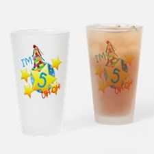 Im 5, Uh Oh! Drinking Glass
