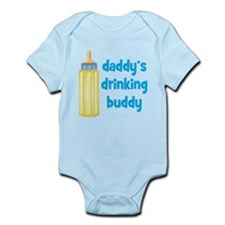 Daddys Drinking Buddy Infant Bodysuit
