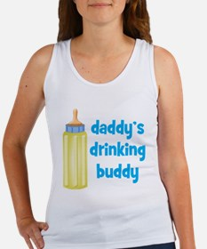 Daddys Drinking Buddy Women's Tank Top