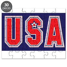 USA w STAR Puzzle