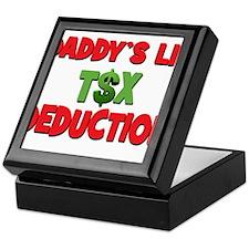 Daddys Lil Tax Deduction Keepsake Box