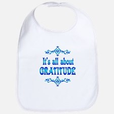 All About Gratitude Bib