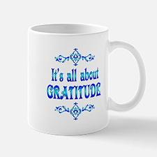 All About Gratitude Mug